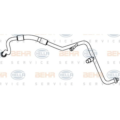 Conducta inalta presiune variabila aer conditionat Ford Focus 2 (Da), Focus C-Max, Hella 9GS351338151