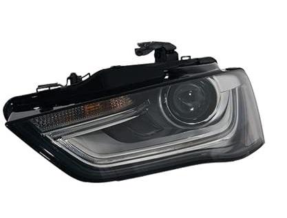 Far Audi A4/S4 (B8), 11.2011-12.2015, fata, Stanga, xenon; cu LED daytime running light; D3S+PSY24W; electric; fara unitate control; fara ballast; fara LED controlling unit; cu motor, TYC