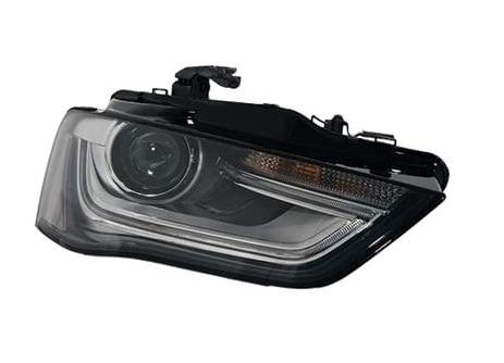 Far Audi A4/S4 (B8), 11.2011-12.2015, fata, Dreapta, xenon; cu LED daytime running light; D3S+PSY24W; electric; fara unitate control; fara ballast; fara LED controlling unit; cu motor, TYC
