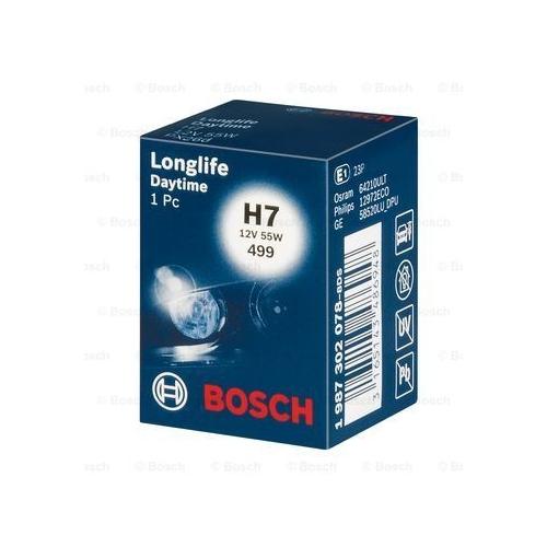 Bec H7 12v 55w Longlife Daytime BOSCH 1987302078