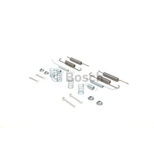 Set accesorii reparatie saboti frana Bosch 1987475110, parte montare : Punte spate