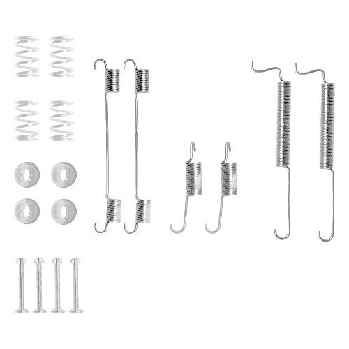 Set accesorii reparatie saboti frana Textar 97015600, parte montare : Punte spate