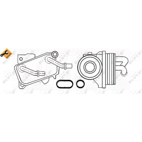 Radiator ulei motor, Termoflot Nrf 31182
