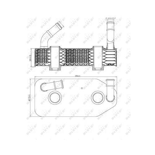 Radiator ulei motor, Termoflot Nrf 31186