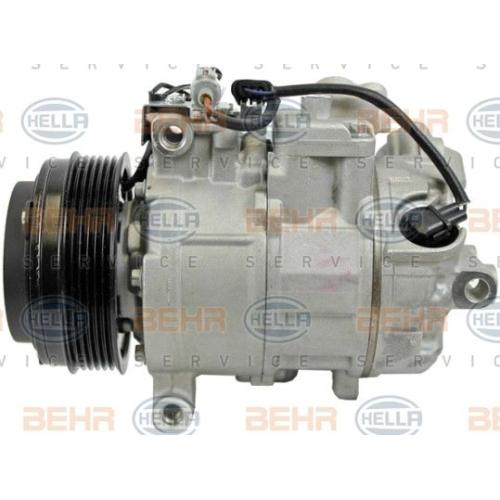 Compresor climatizare Bmw Seria 1 (E81, E82, E88), Seria 3 (E90 E91), Seria 5 (E60), X1 (E84) Hella 8FK351334971