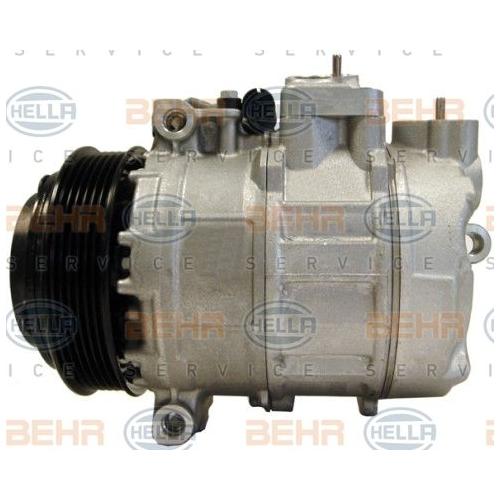 Compresor climatizare Chrysler Crossfire; Mercedes-Benz C-Class (W202), Clk (C208), E-Class (W210), G-Class (W461), G-Class (W463), M-Class (W163), S-Class (W140), Slk (R170), Sprinter (901, 902, 903, 904), Vito (W638) Hella 8FK351175511