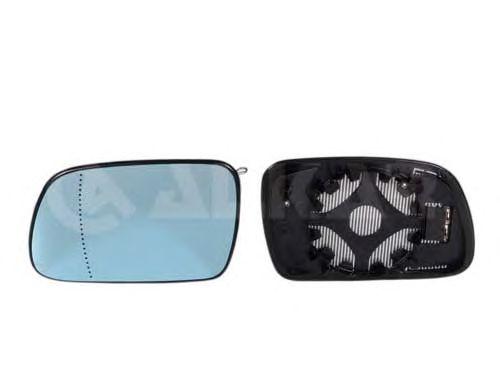 Geam oglinda, sticla oglinda Peugeot 407 (6d), 407 Sw (6e), Alkar 6431740, parte montare : Stanga