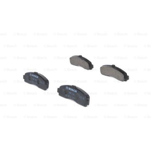 Set placute frana Bosch 0986461122, parte montare : punte fata
