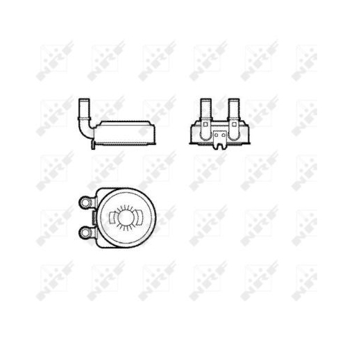 Radiator ulei motor, Termoflot Nrf 31739