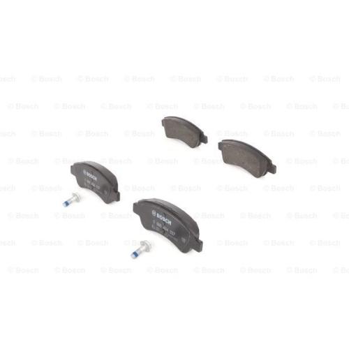 Set placute frana Bosch 0986494027, parte montare : punte fata