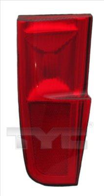 Catadioptru element reflectorizant Fiat Punto (188) Tyc 170061002, parte montare : Dreapta, Spate