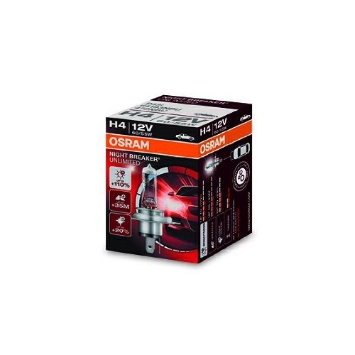 Bec H4 Night Breaker Unlimited OSRAM 64193NBU