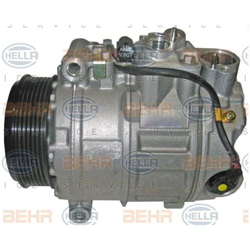 Compresor climatizare Mercedes-Benz C-Class (W203)), Clk (C209), Cls (C219), E-Class (W211), Gl-Class (X164), M-Class (W164), R-Class (W251, V251), S-Class (W220), Sl (R230), Viano (W639) Hella 8FK351316771