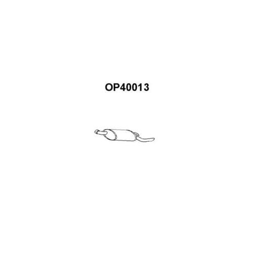 Toba esapament finala Opel Corsa A Hatchback (93, 94, 98, 99) Veneporte OP40013