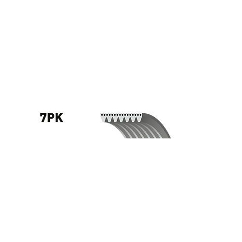 Curea transmisie cu caneluri Gates 7PK1793