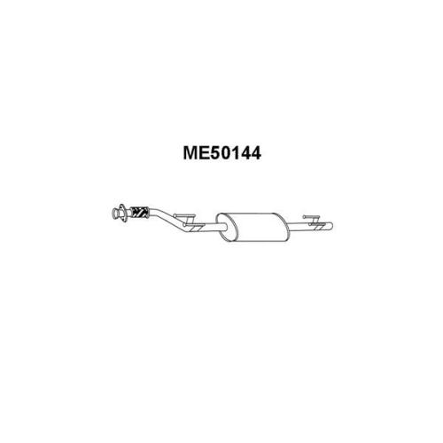 Toba esapament primara Mercedes-Benz Sprinter (901, 902, 903 904) Veneporte ME50144