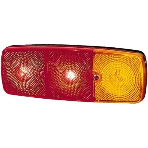 Lampa spate Magirus-Deutz D-Series; Mercedes Lp, Ng, Unimog; Iveco P/Pa-Haubenfahrzeuge, Hella 2SD001699061, parte montare : Dreapta
