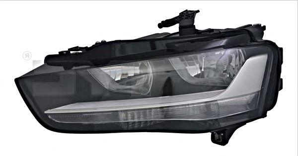 Far Audi A4 (8k2, B8) Magneti Marelli 710301275202, parte montare : Dreapta, Halogen