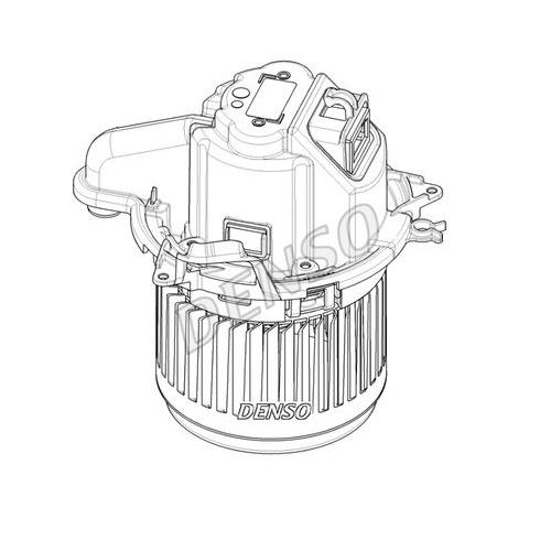 Ventilator habitaclu Renault Captur 2013-, Clio 2012-, DENSO 60B1NU3X