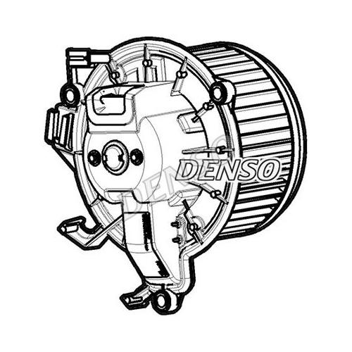 Ventilator habitaclu Iveco Daily 2014-, DENSO 3080NU3X