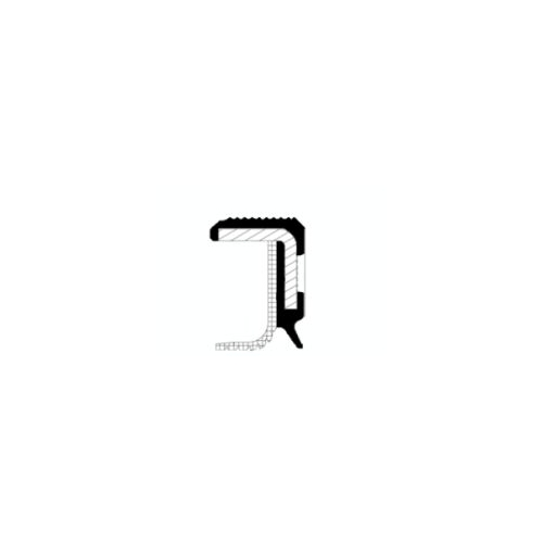 Simering arbore cotit Corteco 20027584B, parte montare : Spre cutie