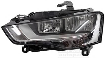Far Audi A5 (8t) Magneti Marelli 710301274202, parte montare : Dreapta, Halogen