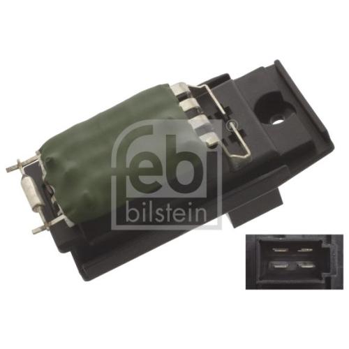 Rezistenta ventilator habitaclu Febi Bilstein 45415