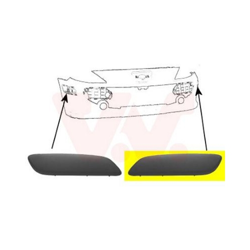Bara protectie Peugeot 307 (3a/C) Van Wezel 4041581 parte montare : stanga, fata