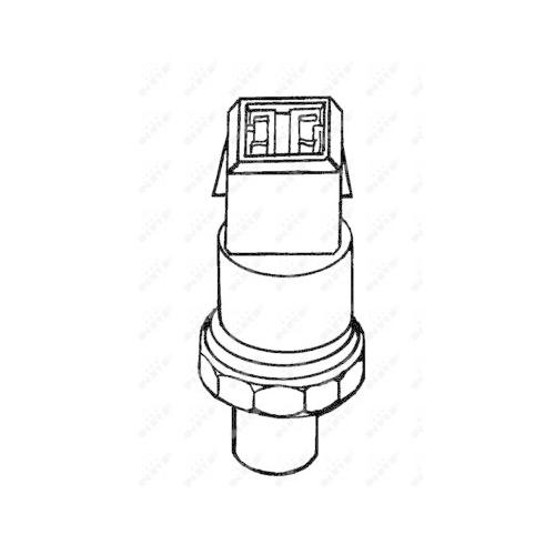 Comutator presiune aer conditionat Audi A4 (8d2, B5), A4 Cabriolet (8h7, B6, 8he, B7), A6 (4b2, C5), A8 (4d2, 4d8); Skoda Superb (3u4); Vw Passat (3b2/3b3) Nrf 38901