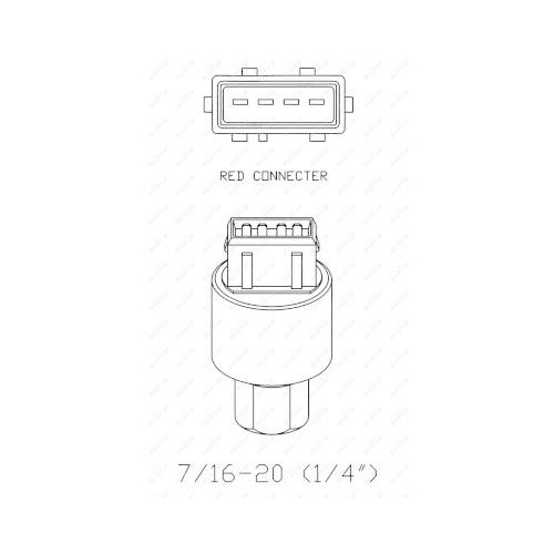 Comutator presiune aer conditionat Nrf 38936