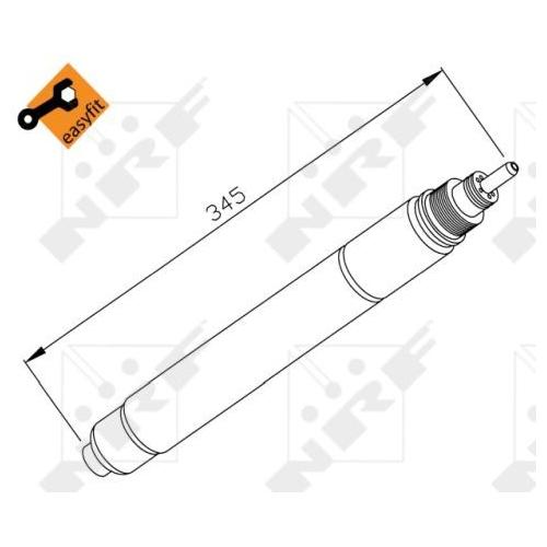 Uscator condensator aer conditionat Citroen C5 1 (Dc), C5 2 (Rc), C8 (Ea, Eb), Xsara (N1/ N2); Fiat Ulysse (179ax); Lancia Phedra (179); Peugeot 307 (3a/C), 406 (8b), 407 (6d), 607 (9d, 9u), 807 (E) Nrf 33194
