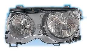 Far Bmw Seria 3 Compact (E46) Magneti Marelli 710301187201, parte montare : Stanga, Halogen