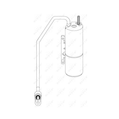 Uscator condensator aer conditionat Fiat Croma (194); Opel Vectra C; Saab 9-3 (Ys3f) Nrf 33289