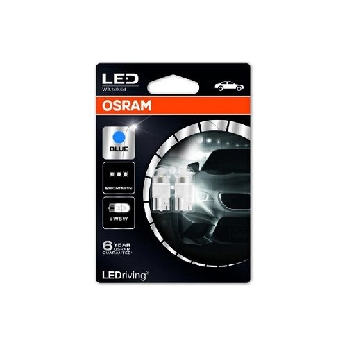 Led Retrofit 12v W5w Blue Interior OSRAM 2850BL02B
