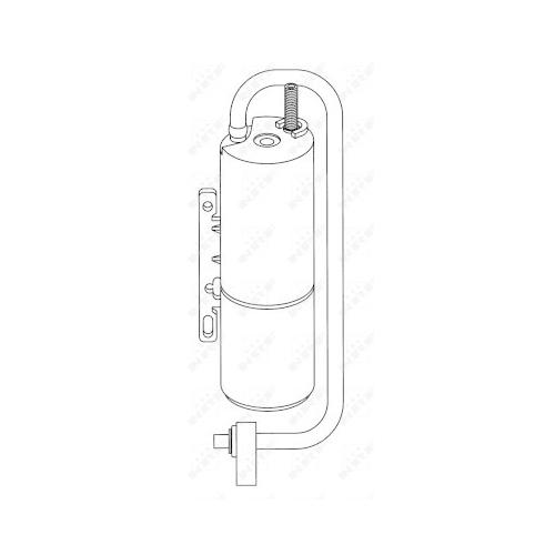 Uscator condensator aer conditionat Fiat Croma (194); Opel Vectra C; Saab 9-3 (Ys3f), 9-3 Combi (Ys3f) Nrf 33201
