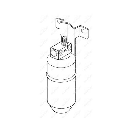 Uscator condensator aer conditionat Ford Galaxy (Wgr); Seat Alhambra (7v8, 7v9); Vw Sharan (7m) Nrf 33078