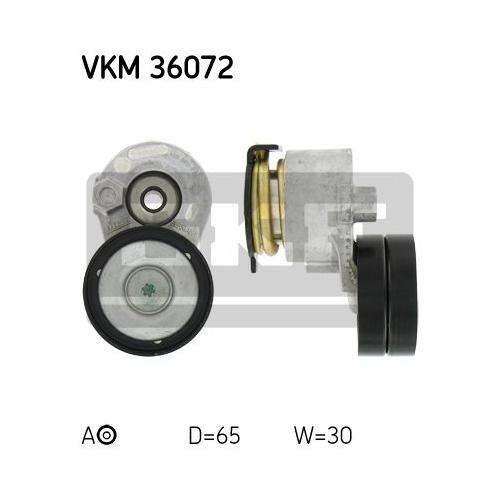 Rola intindere curea transmisie Skf VKM36072