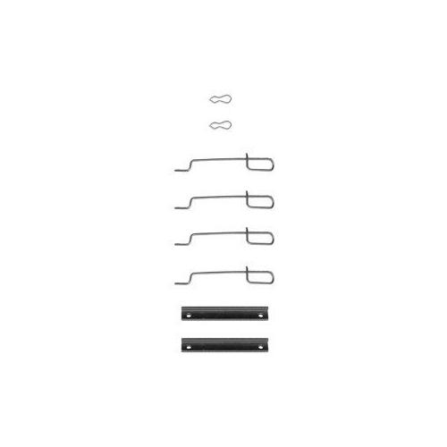 Set accesorii placute frana Delphi LX0044, parte montare : Punte Fata