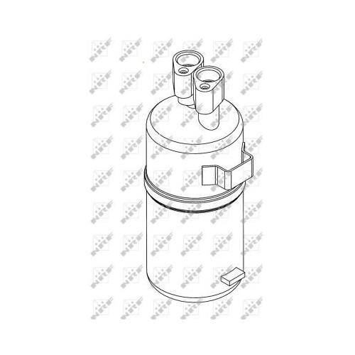 Uscator condensator aer conditionat Mercedes-Benz Citan (415); Renault Grand Scenic 2 (Jm0/1), Kangoo / Grand Kangoo (Kw0/1), Megane 2 (Bm0/1, Cm0/1) Nrf 33221
