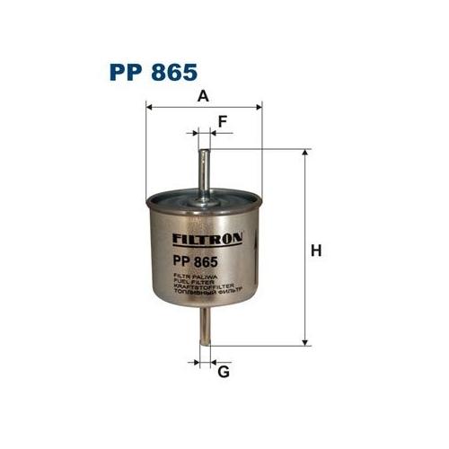 Filtru combustibil FILTRON FLPP865