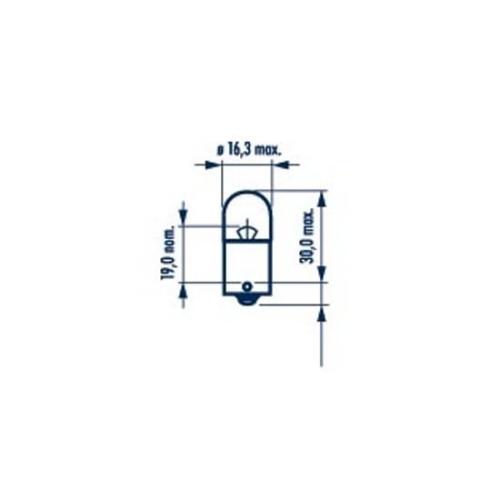 Bec Auxiliar 24v R5w Set 10 Buc Narva NARVA 17181