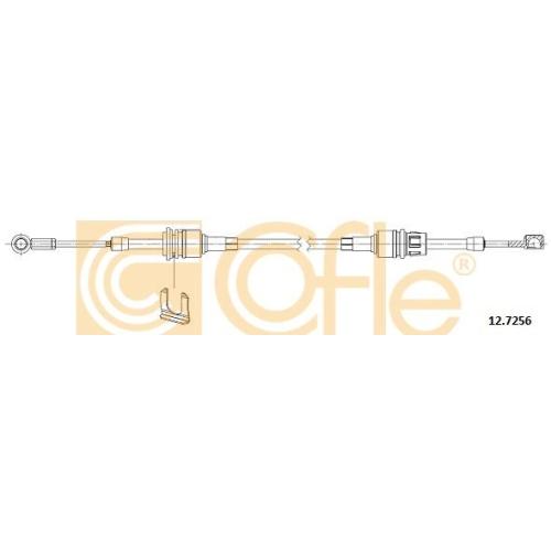 Cablu timonerie transmisie manuala Alfa Romeo Mito (955); Fiat Grande Punto (199), Punto (199), Punto Evo (199) Cofle 127256