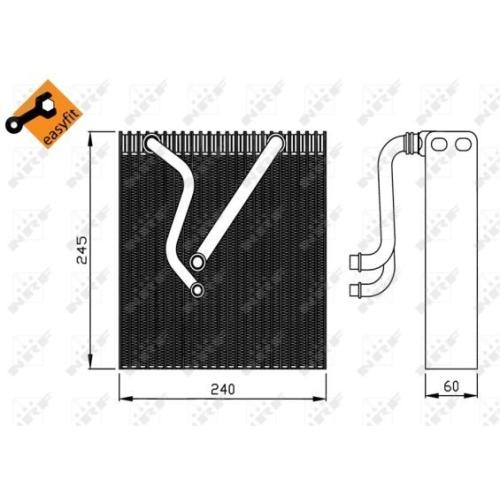 Evaporator aer conditionat Nrf 36109
