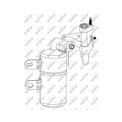 Uscator condensator aer conditionat Volvo C30, C70 2 Cabriolet, S40 2 (Ms), V50 (Mw) Nrf 33307