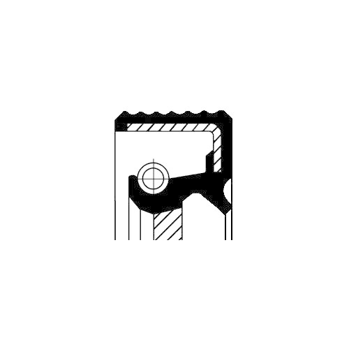 Simering ax cu came Corteco 19036293B