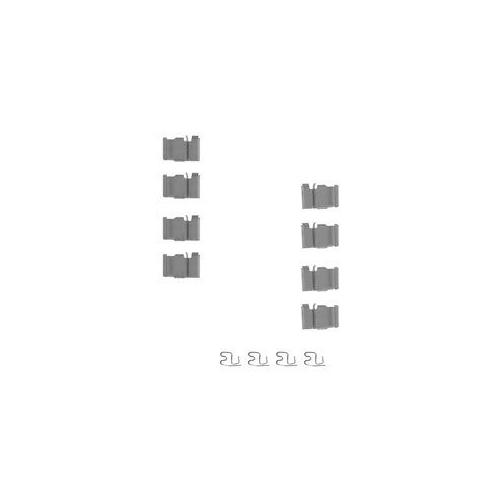 Set accesorii placute frana Delphi LX0212, parte montare : Punte Spate