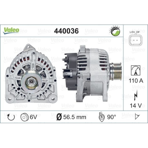 Alternator Valeo 440036 TG11C027
