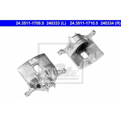 Etrier frana Honda Civic 6 (Ej, Ek), Logo (Ga3), Ate 24351117105, parte montare : Punte fata, Dreapta