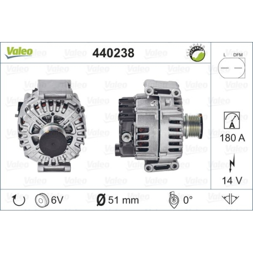Alternator Valeo 440238