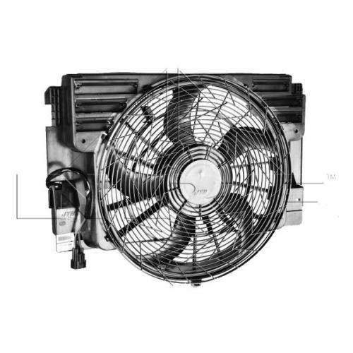 Ventilator radiator GMV Bmw X5 (E53) Nrf 47217